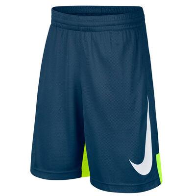 Nike Boys Dry Short HBR-Blue Force-Volt-White