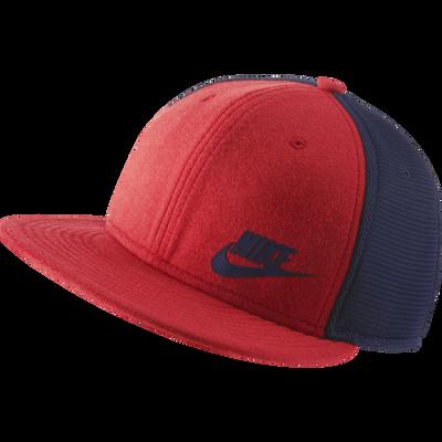 Nike Tech True Red Snapback