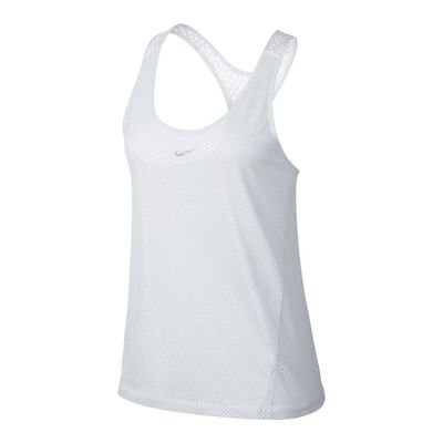Women's Nike Dry Pinnie-White