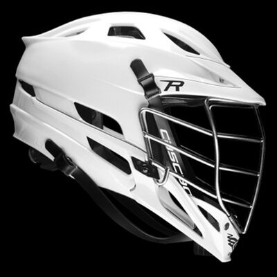 Cascade R - All White - Chrome Mask - In Stock
