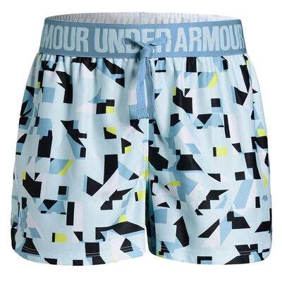 Under Armour Play Up Printed Short - Coded Blue/Boho Blue
