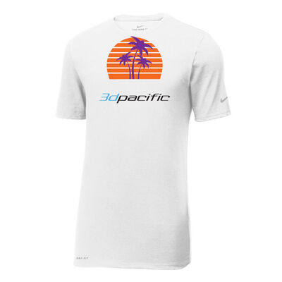 Nike Cotton-Poly SS 3d Pacific