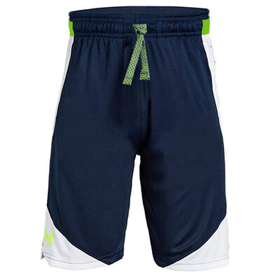 Under Armour Stunt 2.0 Short - Navy Academy/Yellow
