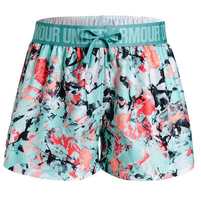 Under Armour Play Up Printed Short - Neo Turquoise/Teal
