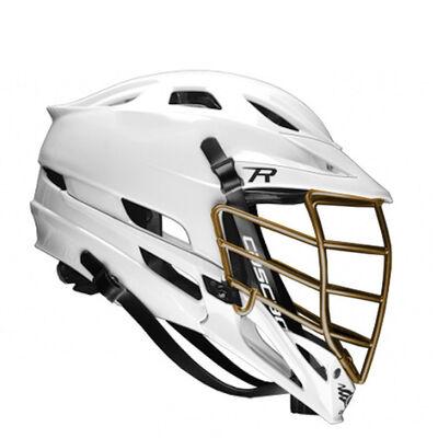 Cascade R Helmet-Matte Gold Chrome Facemask