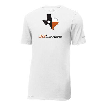 Nike Cotton-Poly SS 3d Texas