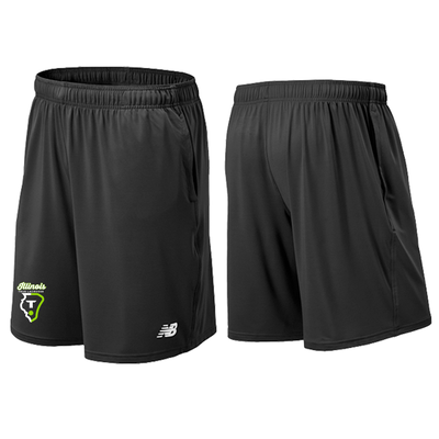 True IL - NB Mens Tech Short Black