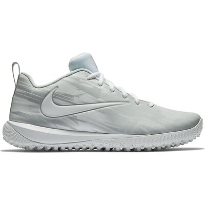 Nike Vapor Varsity Low Turf Lax-White-Wolf Grey