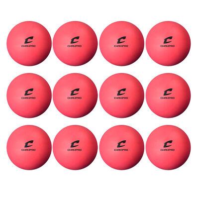 Soft Practice Lacrosse Balls - Dozen