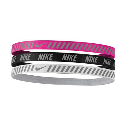 Nike Printed Hazard Stripe Headband 3 Pack
