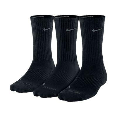 Unisex Nike Dry Cushion Crew Training Crew Sock-Black
