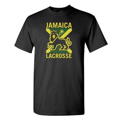 b31c5738b8777 Rasta Lacrosse T-shirt .