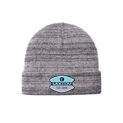 Lax.com Knit Cuff Beanie with Patch