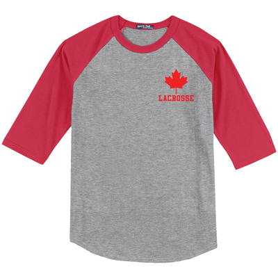 Lax.com Canada Jersey Long Sleeve T-Shirt