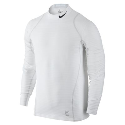 Nike Pro Warm Top-White
