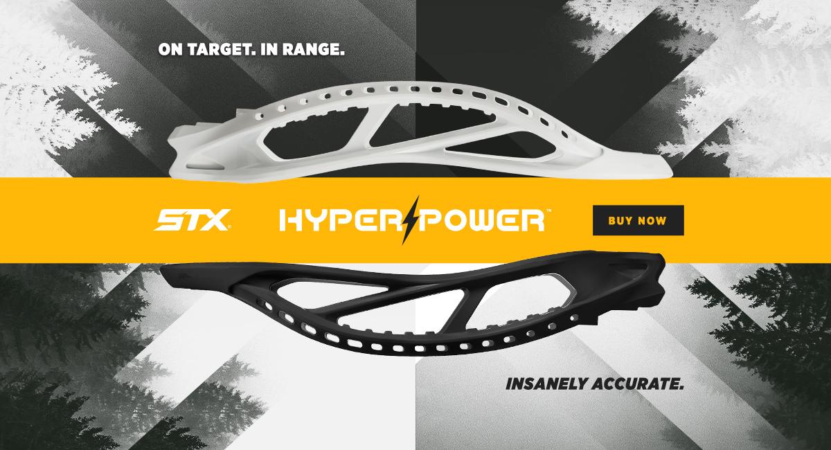 stx hyper power lacrosse head