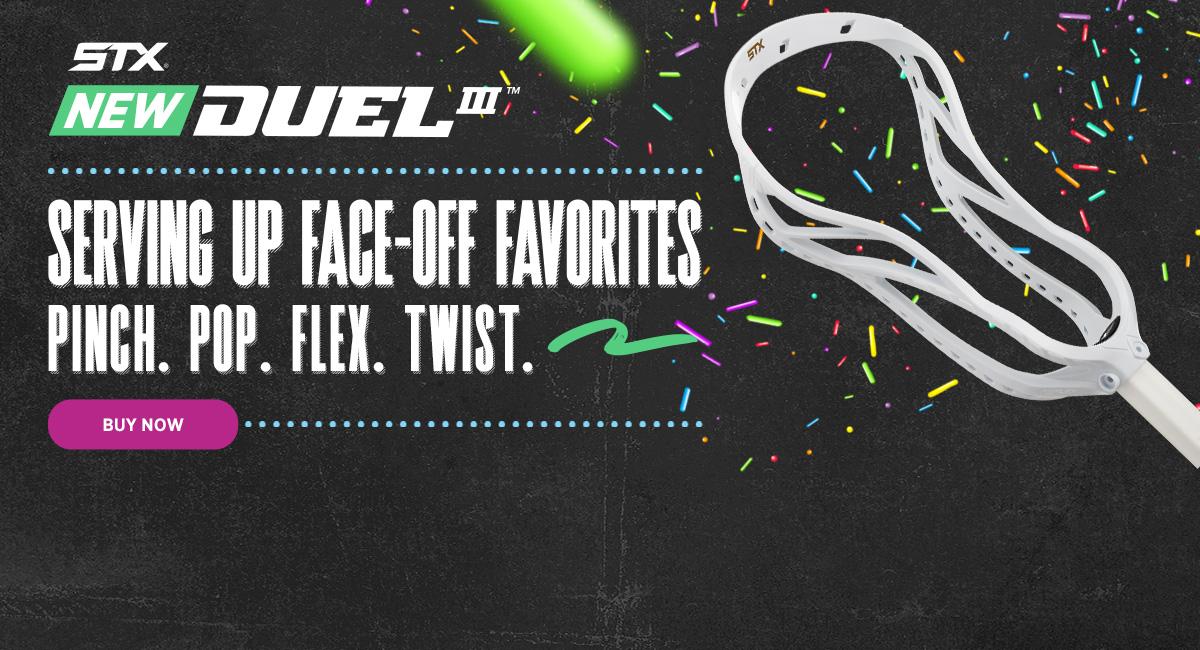 stx duel 3 lacrosse head