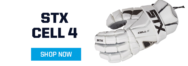 STX CELL 4 MEN'S LACROSSE GLOVE
