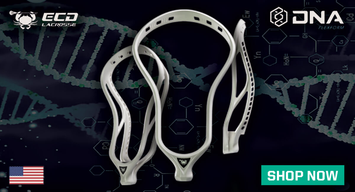 ECD DNA Lacrosse Head