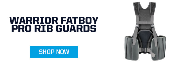 warrior fatboy pro rib pads for Box Lacrosse