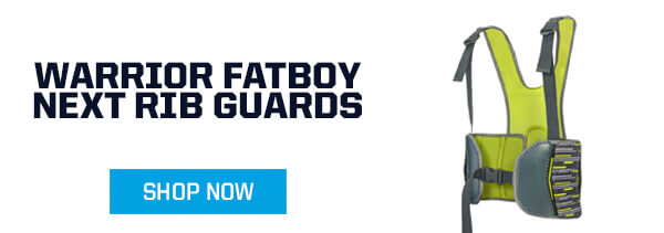 youth rib pads warrior fatboy next for Box Lacrosse