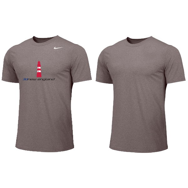 Nike YOUTH Dri-fit Shirt - 3d New England