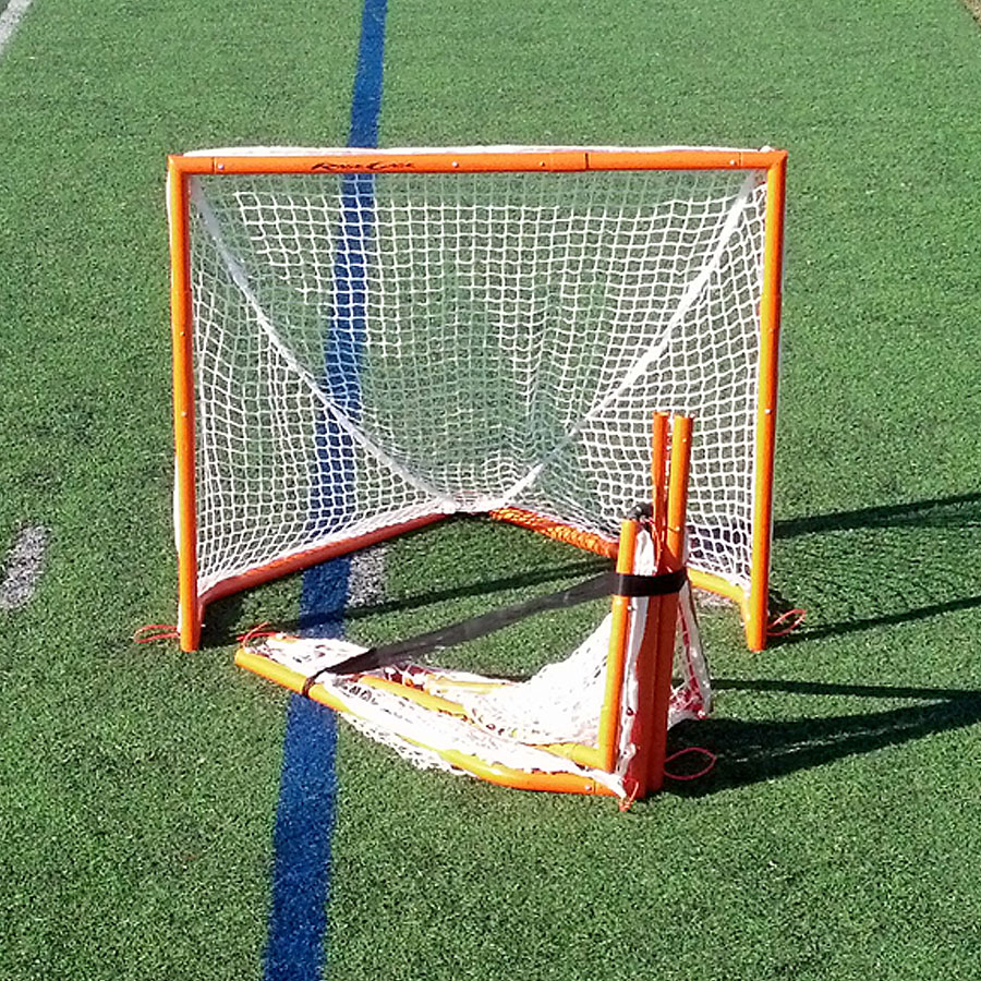 Rage Cage Box Lacrosse Goal orange