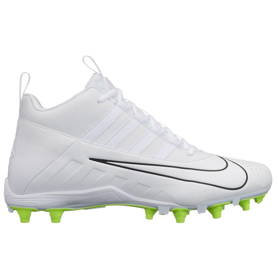 26d7ebfcf48c4 Nike Alpha Huarache 6 Varsity Lax-White-Volt Lacrosse Cleats ...