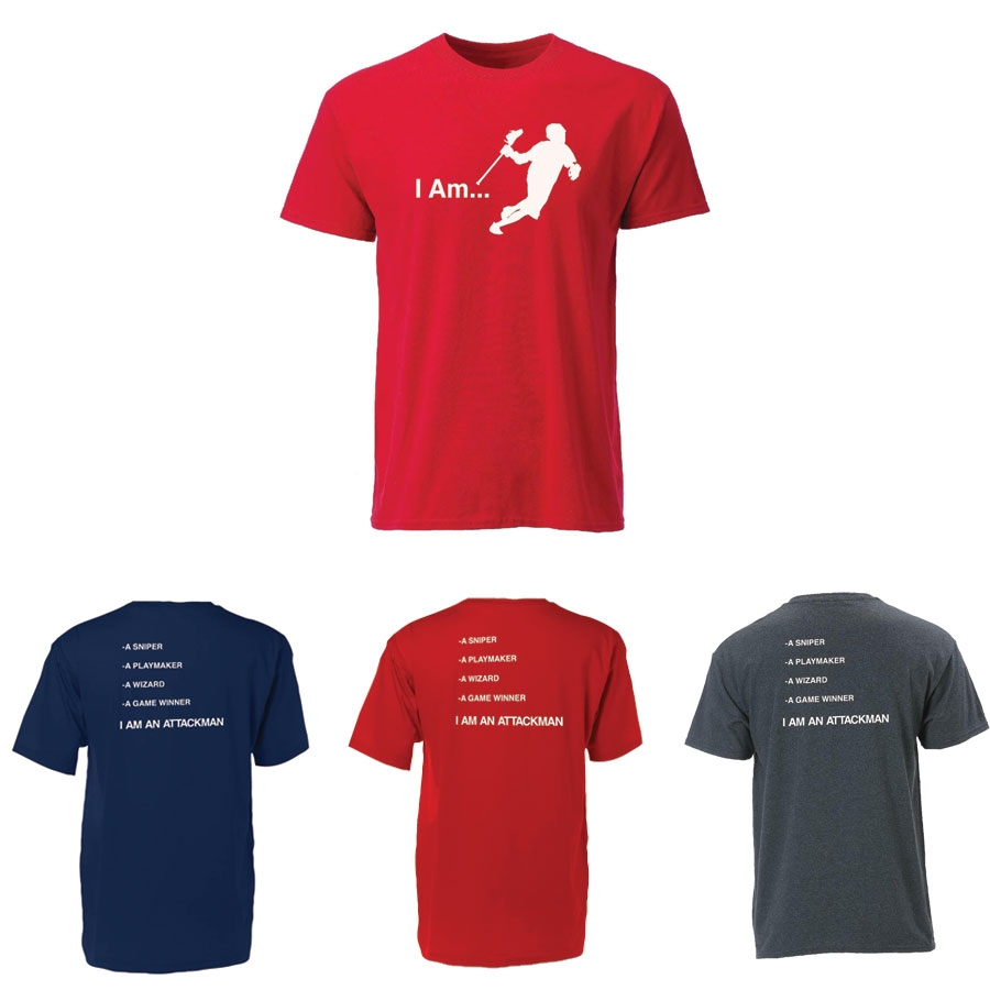 Youth Lacrosse Tee-I Am Attackman