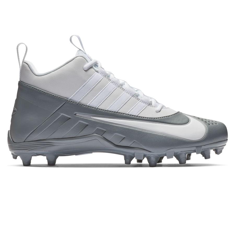 ff60b560fb0aa Nike Alpha Huarache 6 Varsity Lax-Grey Lacrosse Cleats | Lowest ...