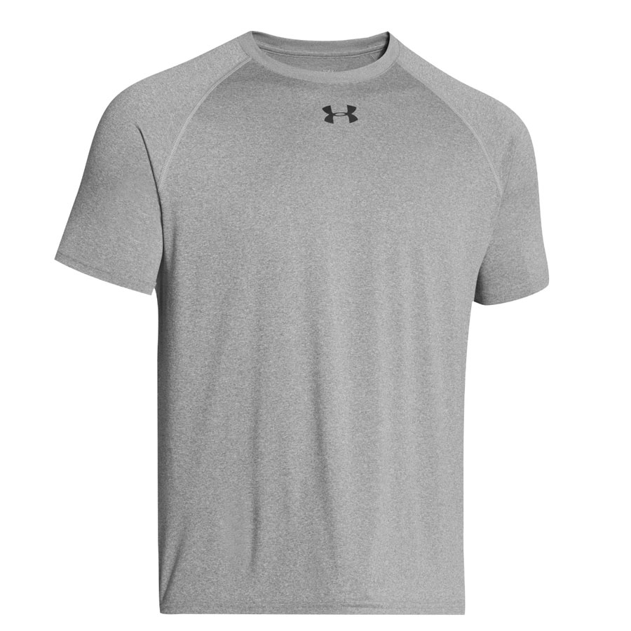 UA Mens Locker Tee 2.0 SS-Grey