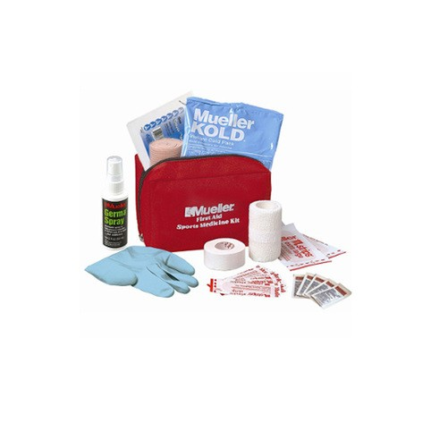 First Aid Sport Kit red