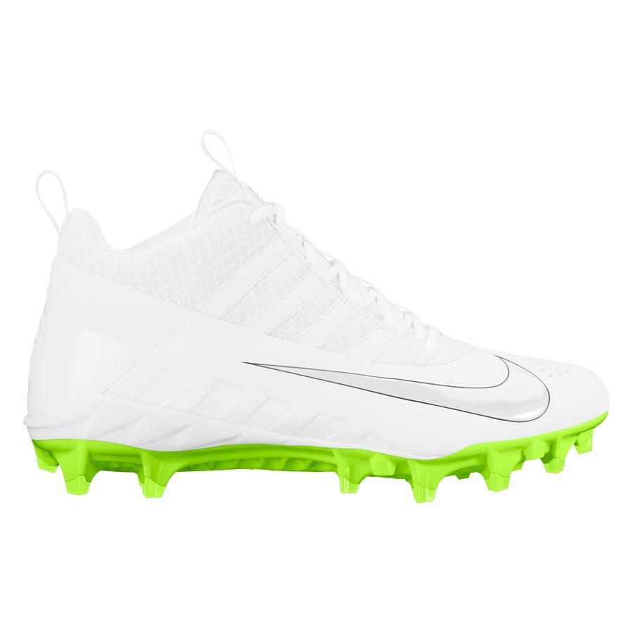 b5ea29c20484e Nike Alpha Huarache 6 Pro Lax-White-Volt Lacrosse Cleats | Lowest ...