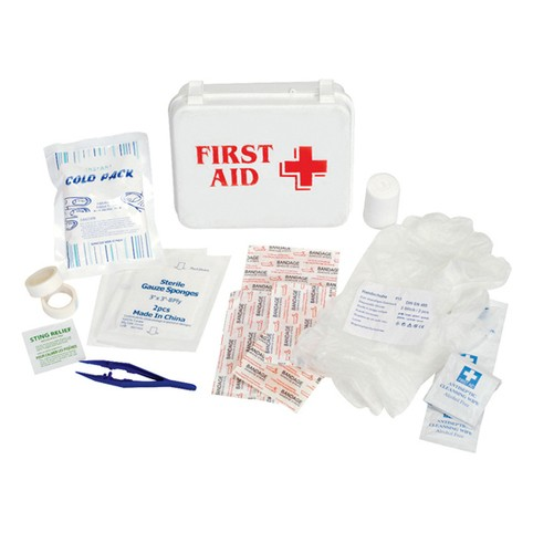 Lax.com First Aid Kit white