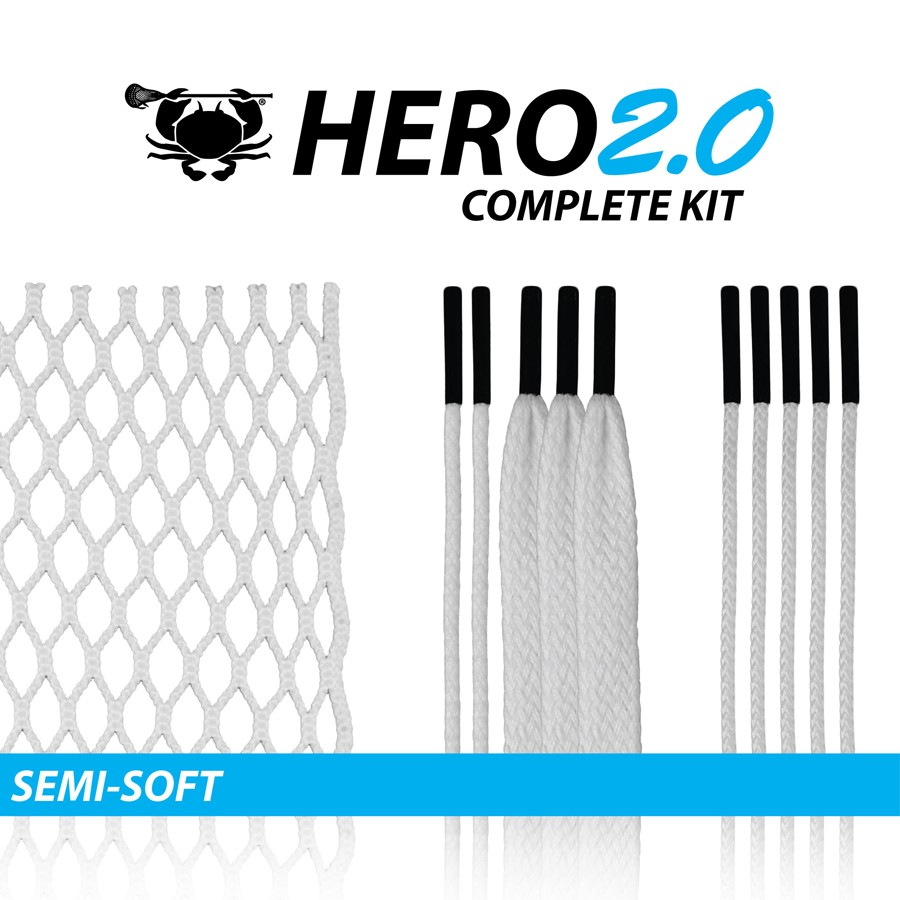 East Coast Dyes Hero 2.0 Semi-Soft Mesh Kit-White