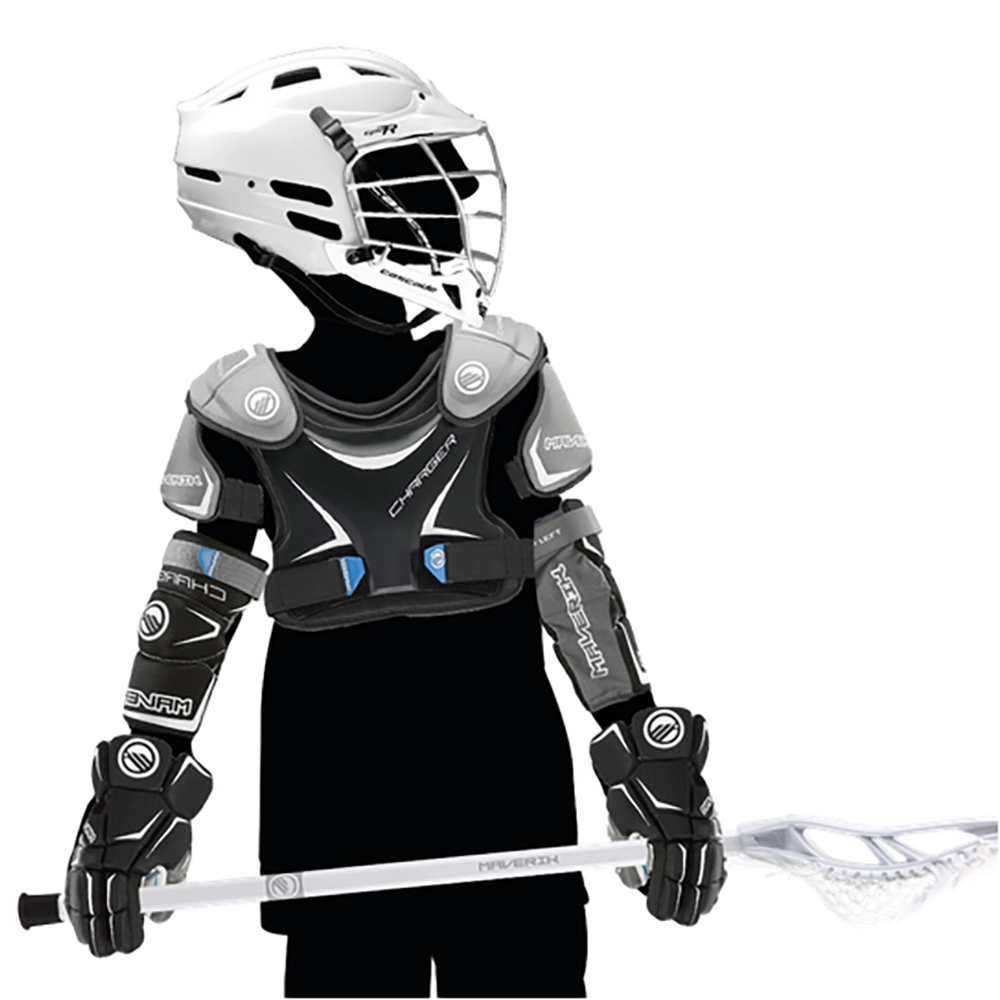 Boys Beginner Lacrosse Equipment Set