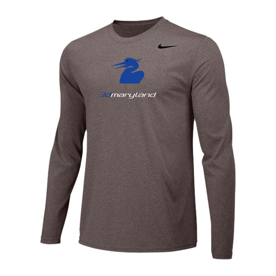 Nike Long Sleeve Dri Fit - 3d Maryland