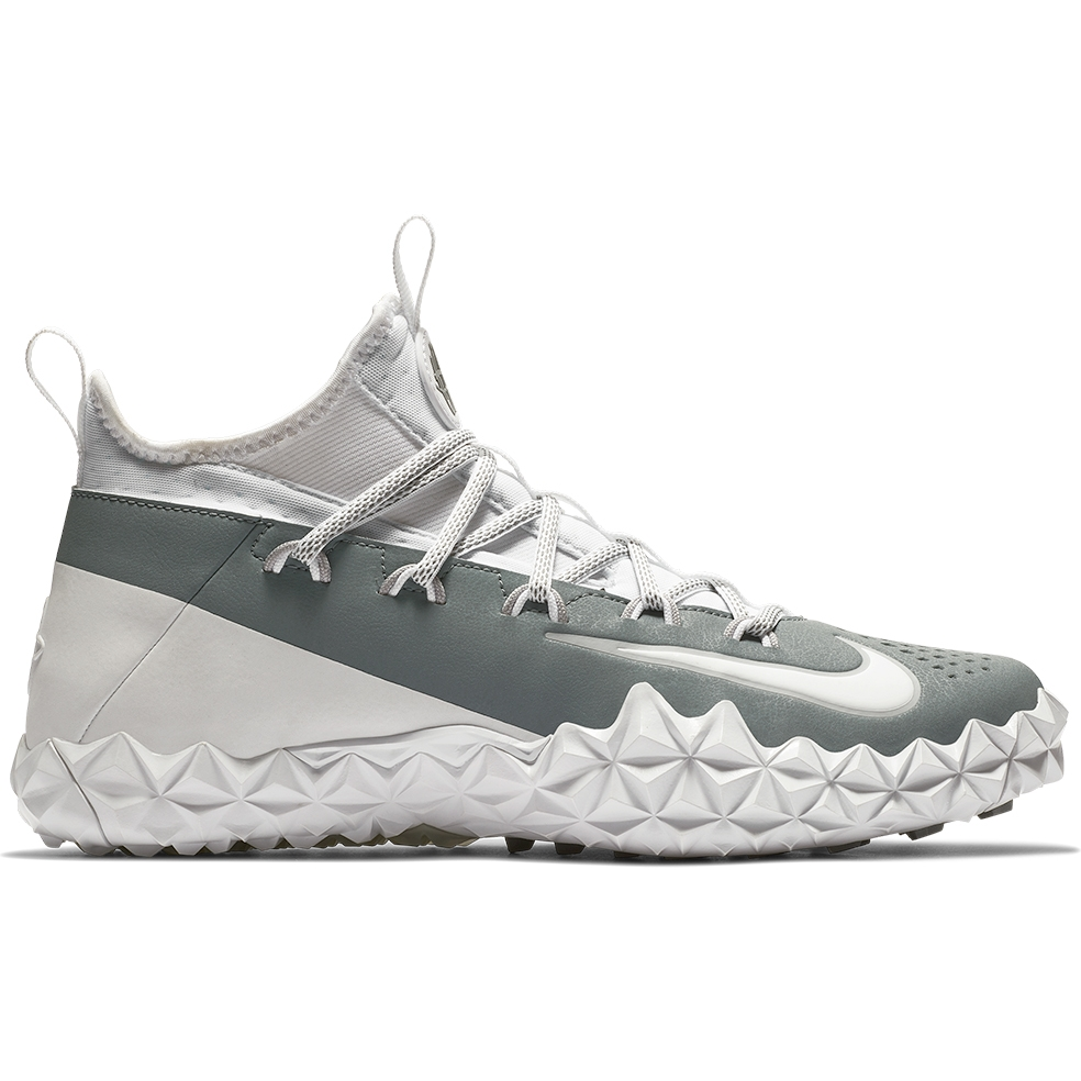 Nike Alpha Huarache 6 Elite Turf Lax-White-Grey