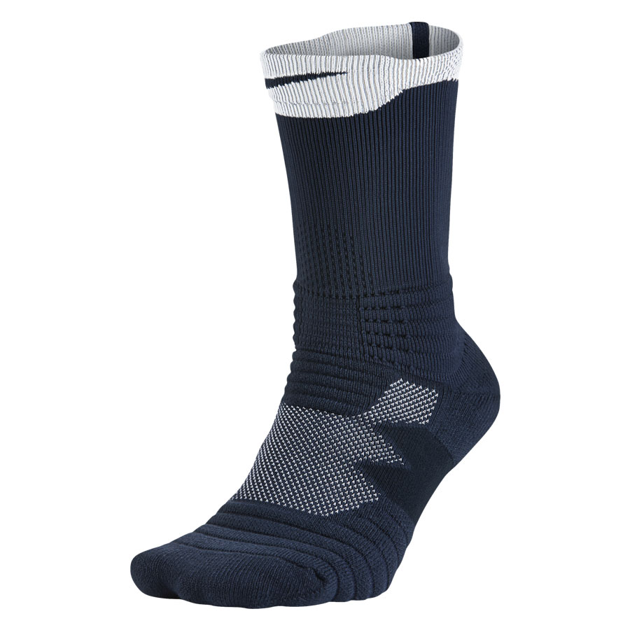 Nike Elite Versatility Crew Sock-Navy
