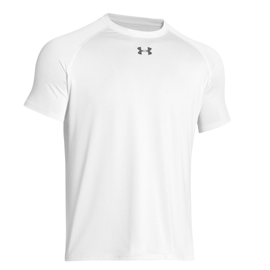 UA Mens Locker Tee 2.0 SS-White