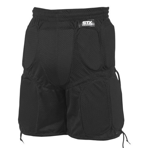 STX Youth Deluxe Goalie Pants-Black-S-M