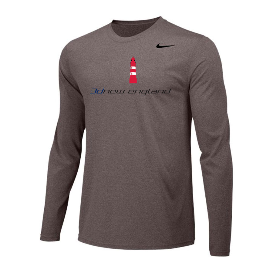 Nike Long Sleeve Dri Fit - 3d New England