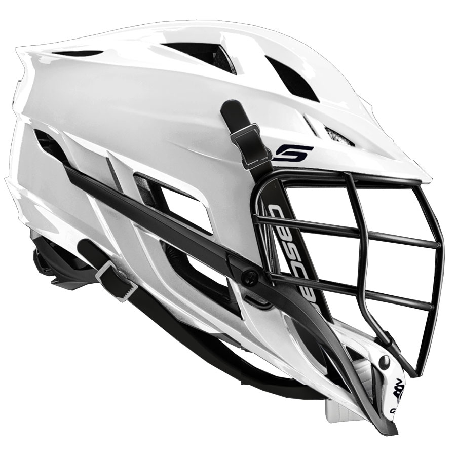 Cascade S Youth-White w. Black Mask
