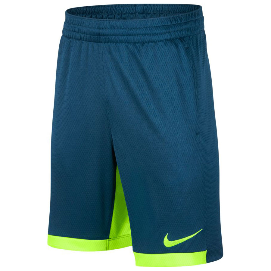 Nike Boy's Dry Short Trophy-Blue Force-Volt