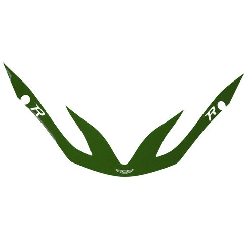 Cascade R Visor Decal Forest Green