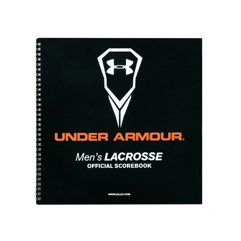 Under Armour Mens Lacrosse Scorebook black