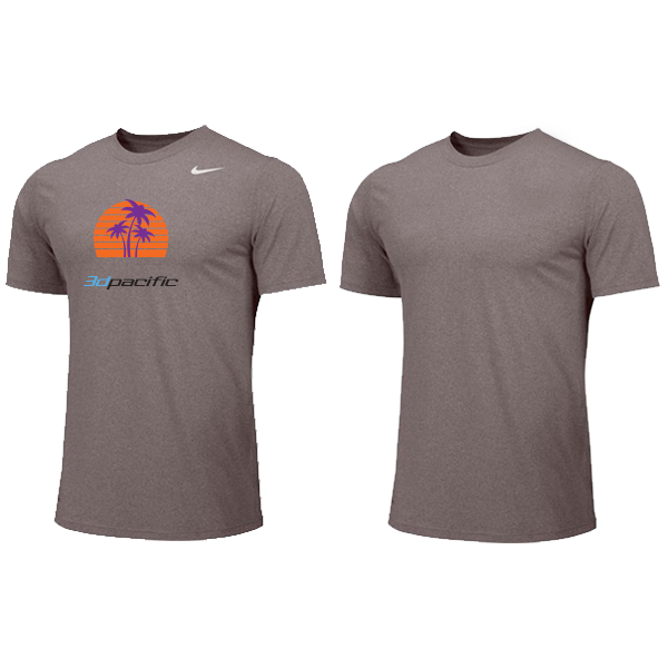 Nike YOUTH Dri-fit Shirt - 3d Pacific