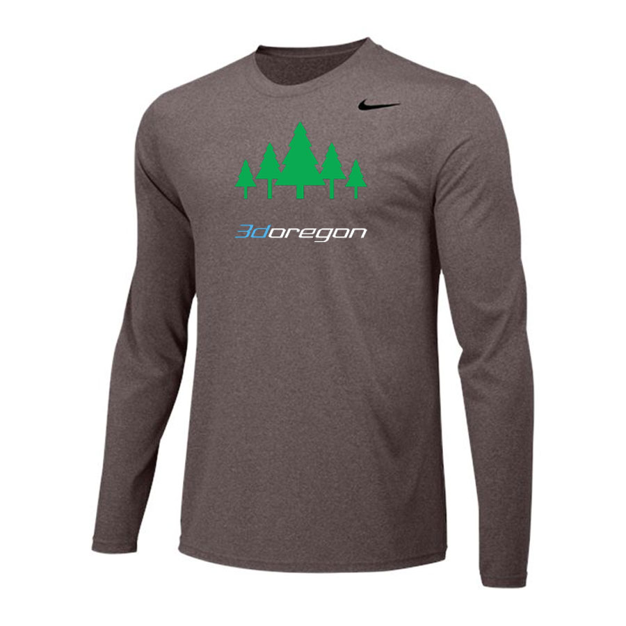 Nike Long Sleeve Dri Fit - 3d Oregon