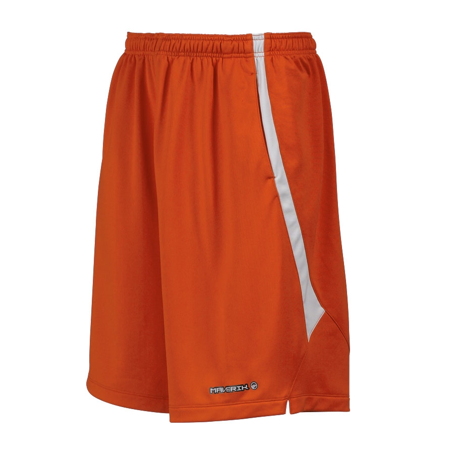 Maverik Lacrosse Short-Orange