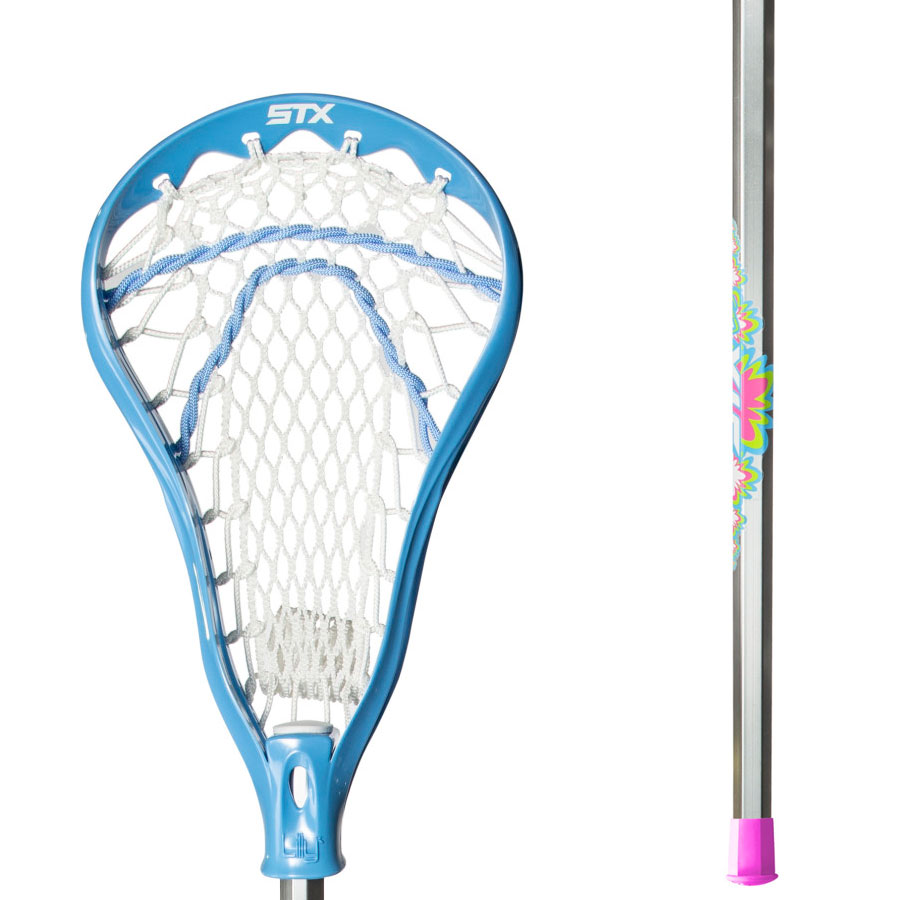 STX Lilly Beginner Lacrosse Stick with Crux Mesh